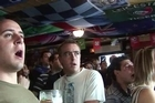 New Zealand rugby fans cheered their win over rivals France in one of the most hotly awaited games of the group phase.