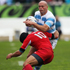 Felipe Contepomi of Argentina is tackled by Lasha Khmaladze of Georgia. Photo / Getty Images