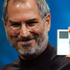 Steve Jobs displays the iPod mini at the Macworld Conference and Expo in San Francisco, 2004. Photo / AP