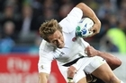 England's only real weapon is Jonny Wilkinson's kicking. Photo / Greg Bowker