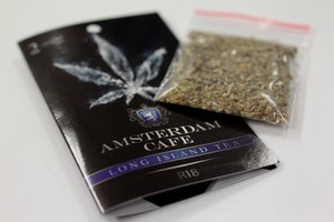 Amsterdam Cafe synthetic cannabis is back in shops. Photo  / Richard Robinson
