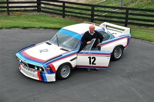 Chris Amon has fond memories of racing the coupe in the 1973 European Touring Car Championship. Photo / Supplied