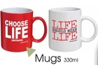 Mugs from the Sensible Sentencing Trust. Photo / Supplied