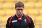 Wales first five-eights Rhys Priestland, 24, made his debut only when injury ruled out the other options in August. Photo / Mark Mitchell