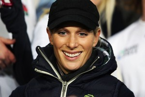Zara Phillips is back in Europe. Photo / Getty Images