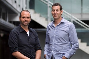 Promapp directors Ivan Seselj (left) and Richard Holmes both went to Macleans College. Photo / Natalie Slade