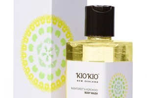 Kio Kio Rainforest and Koromiko Body Wash, $35. Photo / Supplied
