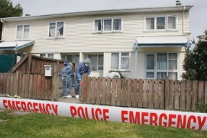 The house, which has subsequently been burned down, where Tisha Lowry and Rebecca Somerville were murdered. Photo / APN