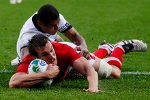 Wales captain Sam Warburton is only 23. Photo / Christine Cornege