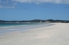 Beach near Carrington Estate on Northland's Karikari Peninsula, where a local iwi has been fighting against plans to place holiday homes. Photo / supplied