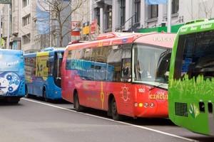 Misbehaviour on Auckland's buses has raised complaints. Photo / Paul Estcourt