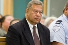 Former Cabinet Minister Taito Phillip Field during his sentencing on bribery and corruption charges. Photo / Paul Estcourt