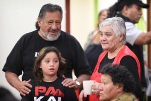 Maori Party Leader Pita Sharples (L). Photo / NZ Herald