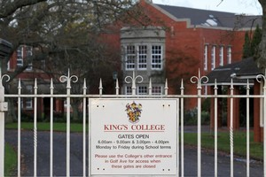 King's College say they have had positive feedback. Photo / Greg Bowker