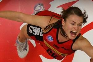 Canterbury Tactix player Charlotte Kight. Photo / Alan Gibson