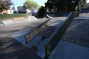 The Victoria Park skate park was in need of an upgrade. Photo / APN