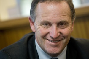 Labour says Prime Minister John Key's hosting of a radio programme last week breached both the Broadcasting Act and the Electoral Act. Photo / Ben Fraser