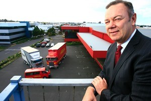 Freightways Limited's chief executive Dean Bracewell. Photo / Martin Sykes