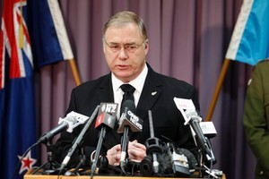 Dr Wayne Mapp, Minister of Defence, has outlined a major re-shape to the Defence Force. Photo / Janna Dixon
