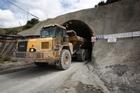 Newmont Waihi Gold's underground Favona mine at Waihi. Photo / Richard Robinson