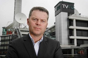 TVNZ head of news and current affairs Anthony Flannery. Photo Greg Bowker