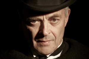 David Aston plays a compelling Jack the Ripper in Albert Belz's Yours Truly. Photo / Supplied