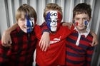 Campbells Bay School boys. Photo / Greg Bowker
