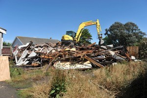 The land under a Christchurch home where two women were murdered, could become a park if the Christchurch City Council can track down the owner of an adjacent home on the same site.    House of Horrors, Wainoni  Photo / s