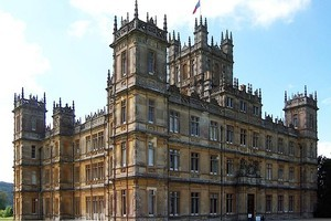 Highclere Castle, home of the Downton Abbey TV series. Photo / Creative Commons image by Flickr user JBUK_Planet