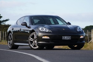 Porsche Panamera. Photo / Supplied