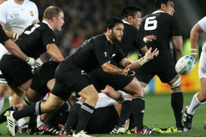 Maori TV has attracted 1.8 million individual viewers to the eight live games they have covered to date, such as the All Blacks/France clash. Photo / Ron Burgin