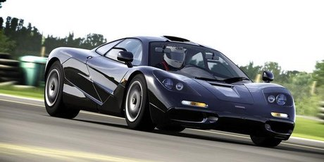 The iconic McLaren F1 GTR is one of many high-end vehicles in Forza 4. Photo / Supplied