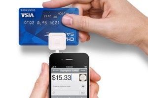 The Square smartphone device is used to scan credit cards, allowing merchants to dispense with cash registers. Less than a year old, 750,000 merchants in the US are using it. Photo / Supplied