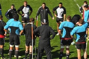 The All Blacks have come through their latest training session without adding to their list of walking wounded. Photo / Getty Images