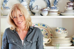 Annabel  Langbein is all about unpretentious cooking using seasonal ingredients. Photo / Chris Loufte
