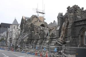 The Canterbury Provincial Council Buildings in Christchurch have been named on the World Monuments Fund's watch list of cultural heritage sites in need of preservation. Photo / Christchurch Star