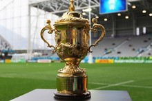 Which of the final eight teams will lift the William Webb Ellis trophy? Photo / Getty Images