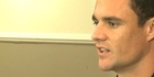 Watch: All Blacks: Dan Carter 'frustrated' at injury