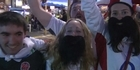 Watch: Rugby World Cup: England and France fans