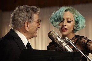 Lady Gaga and Tony Bennett team up for a duet. Photo / Supplied