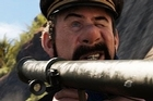 Captain Haddock appears in a new still from the upcoming Tintin movie. Photo / Facebook
