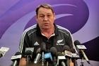 New Zealand All Black assistant coach Steve Hansen. Photo / Sarah Ivey