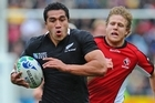 Mils Muliaina will become the second All Black to play 100 tests. Photo / Getty Images