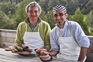 Paolo Delmonte (left) and Luca Vasori from Otello's. Photo / Supplied