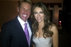 Shane Warne and Liz Hurley posted this photo of themselves on their respective Twitter pages after announcing their engagement.