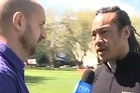 Herald on Sunday columnist and former All Black captain Tana Umaga talk about Richie McCaw's troublesome foot and give their thoughts on whether the All Black should be preserved or play the quarter-final match.
