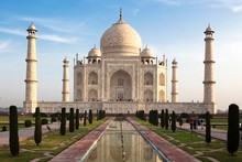 The Taj Mahal was built on mahogany posts sunk into wells fed by the Yamuna river, but the river's water levels are dropping by several feet a year, leaving the wood brittle and falling to bits. Photo / Thinkstock