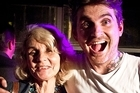 Kiwi rapper Tourettes with his mum, Vicky King. Photo / Milana Radojcic