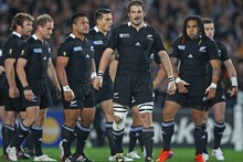 Richie McCaw and the All Blacks are carrying the hopes of a nation ... and they won't let us down. Photo / Getty Images