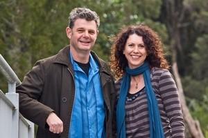 Shayne Cox and Kate Frances. Photo / Richard Robinson